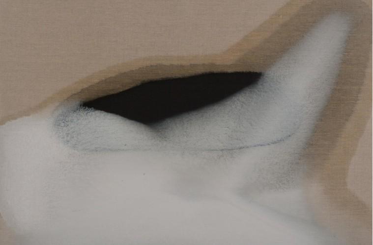 Vasco Bendini, 25 giugno 2013, olio su tela, 90x110 cm