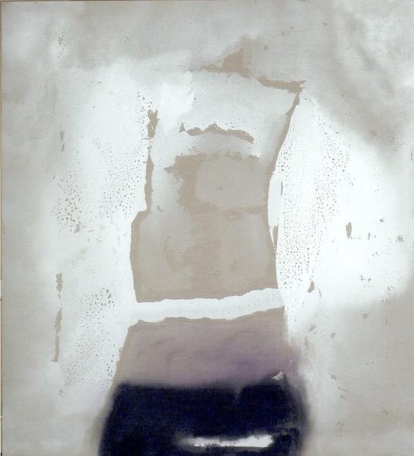 Vasco Bendini, dalla series Memory's images, 2004, acrilico su tela, 200x150 cm