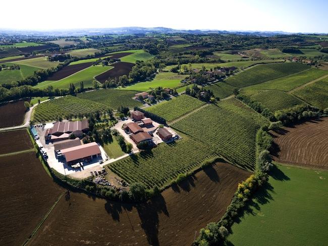 Foto aerea Azienda Umberto Cesari