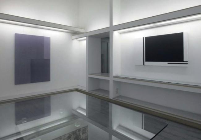 Bruno Querci - Rolando Tessadri. Un'astrazione rigorosa, veduta della mostra, Galleria Giraldi, Livorno