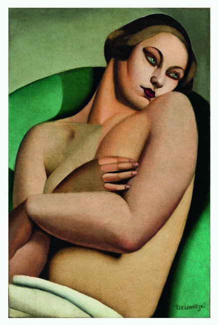Tamara de Lempicka, Nu adossé I, 1925, olio su tela, 81x54.3 cm, Private European collection © Tamara Art Heritage. Licensed by MMI NYC/ ADAGP Paris/ SIAE Roma 2015