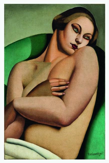Tamara de Lempicka, Nu adossé I, 1925, olio su tela, 81x54.3 cm, Private European collection © Tamara Art Heritage. Licensed by MMI NYC/ ADAGP Paris/ SIAE Roma 2015