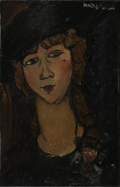 Amedeo Modigliani, Lolotte, 1917, olio su tela, 55x35 cm, Centre Pompidou, Parigi © Centre Pompidou, MNAM-CCI/ Bertrand Prévost / Dist. RMN-GP