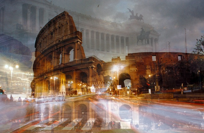 Davide Bramante, My own Rave Roma (Colosseo notturno), 2012. Courtesy Artistocratic