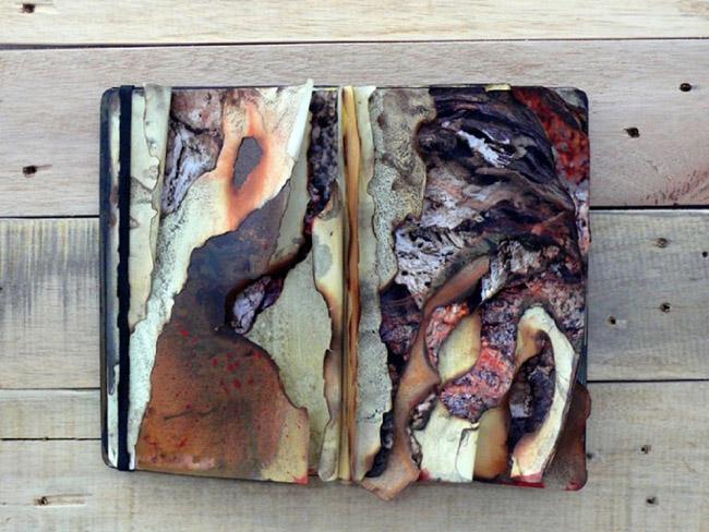 Galleria Zak project space, Daniele Girardi, sketch life books, scultura
