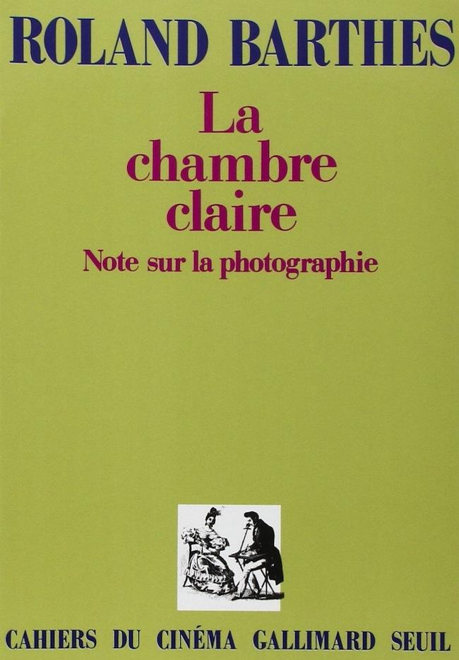 La chambre claire_Roland Barthes