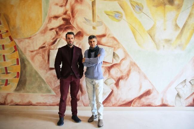 Nicolangelo Gelormini (sinistra) e Piero Mastroberardino (destra)