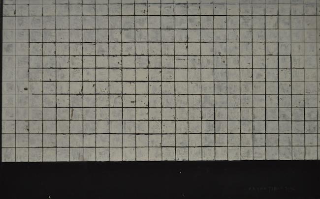 Piero Pizzi Cannella, Bagno turco, 1994, olio su tela, 170x270 cm