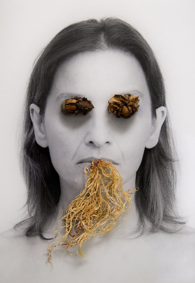 Sabrina Muzi, Daimon 1, stampa al pigmento, cm 18,5x2, 2014
