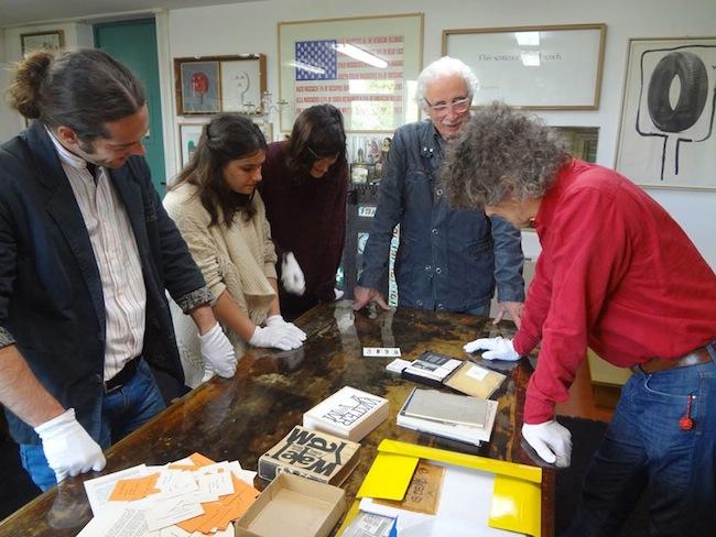 Il Workshop con i giovani artisti