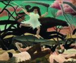 Henri Rousseau, La Guerre dit aussi La chevauchée de la Discorde (La Guerra detta anche La cavalcata della Discordia), 1894 ca., olio su tela, 114x195, Musée d'Orsay, Parigi © RMN-Grand Palais (Musée d'Orsay)/Tony Querrec
