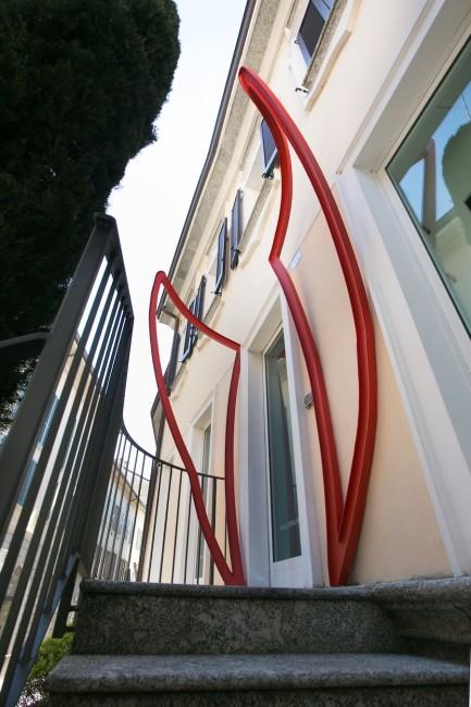 Eduard Habicher, Will kommen, 2015, Galleria Melesi, Lecco