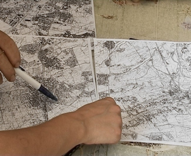 Alessandro Lanzetta, Antonella Perin, Susanna Perin, Sketches on Valle Borghesiana – The illegal master plan and everyday life, 2013, installazione