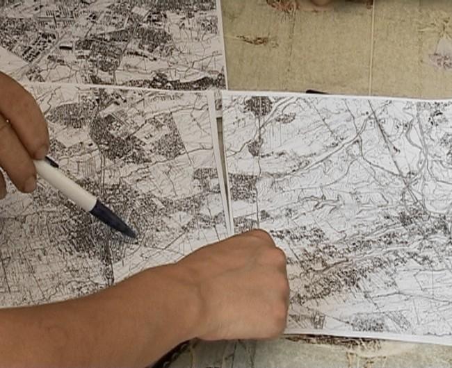 Alessandro Lanzetta, Antonella Perin, Susanna Perin, Sketches on Valle Borghesiana – The illegal master plan and everyday life, 2013, installazione