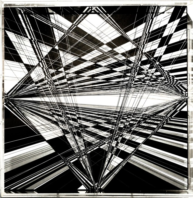 Thomas Canto, Senza titolo, 2015 Tecnica mista 80 x 80 cm.