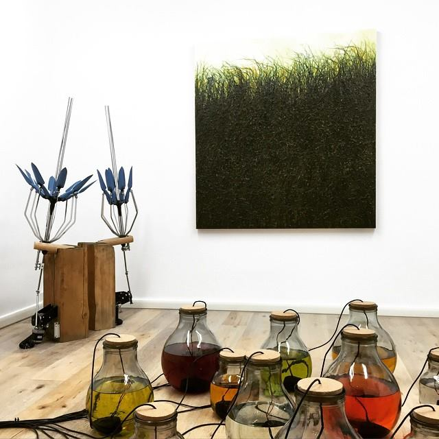 "preview allestimento mostra ""Antropia"", Eduardo Secci Contemporary, Pietrasanta"