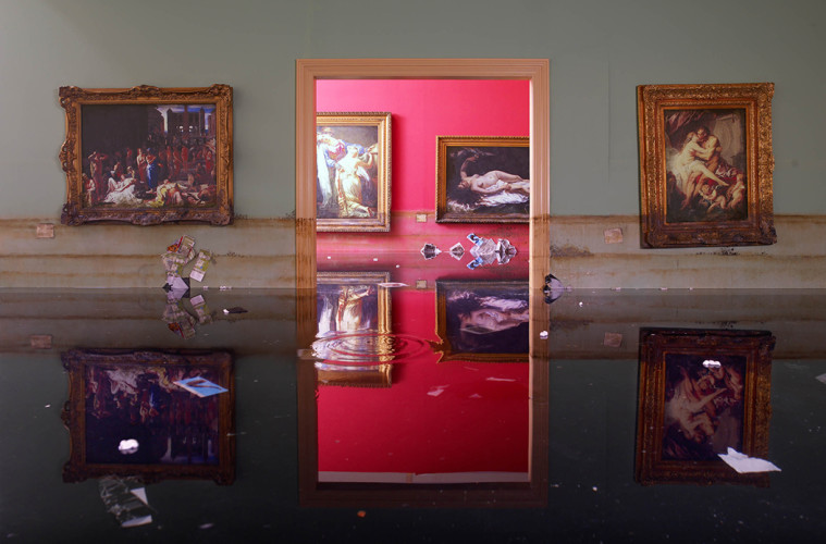 David LaChapelle, Museum, 2007 Chromogenic Print © David LaChapelle