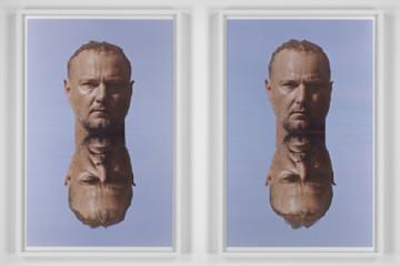 Roni Horn, Water Teller, 2014, digital to negative print on Fujiflex, mounted on plexi, 49.53x74.93 cm