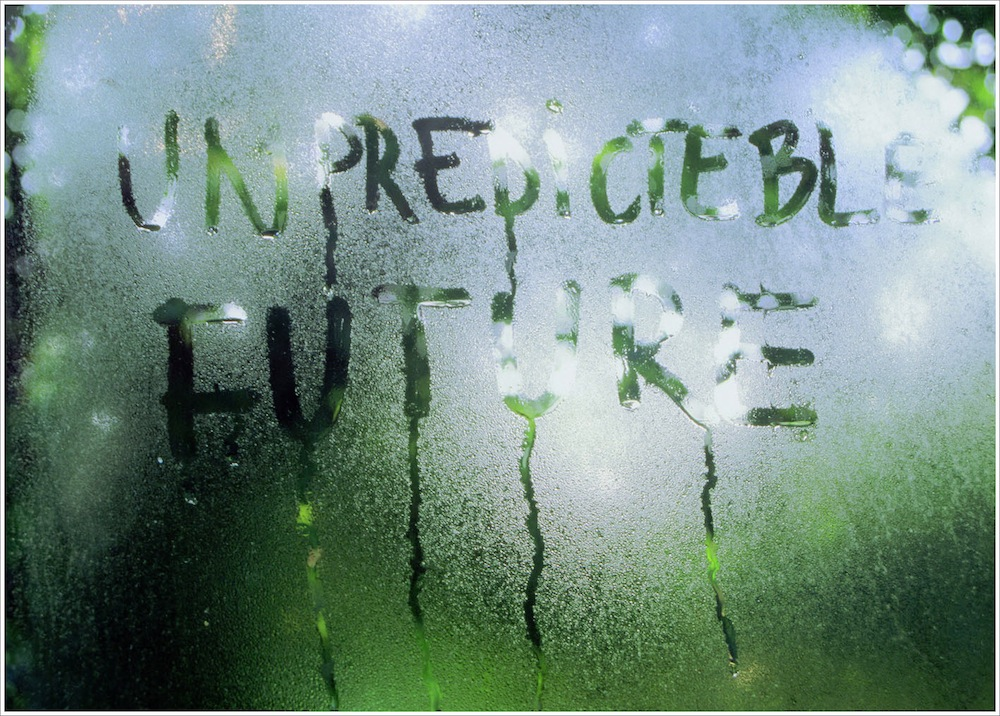 Mircea Cantor, No Title (Unpredicteble Future), 2004, light box, 60x80x8 cm Courtesy of Rennie Collection