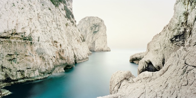 Francesco Jodice, Capri.The Diefenbach Chronicles, #010, 2013, 100x200cm Inkjet on cotton paper, dibond aluminium, plexiglass, wood frame ED. 8+1AP   Courtesy: Podbielski Contemporary, Berlin