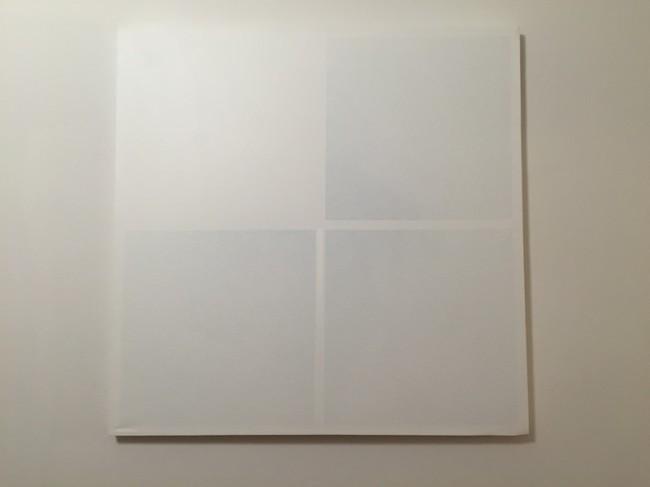 Gianfranco Zappettini, Superficie analitica n.242, 1973, 80x80 cm