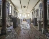 Veduta dell'installazione, Chiesa di Sant'Andrea della Zirada, Venezia Foto credits Andrea Sartori