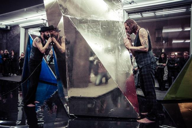 JAŠA & Jyrki Riekki, Cloud Tailor, Sinne Gallery, Helsinki, 2013. Courtesy dell'artista