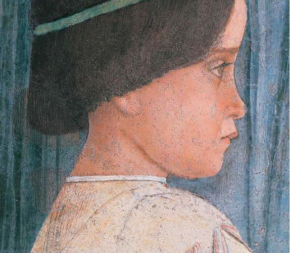 Andrea Mantegna, Camera Picta o camera degli Sposi (dettaglio), 1465-74, affresco, Castello di San Giorgio, Mantova