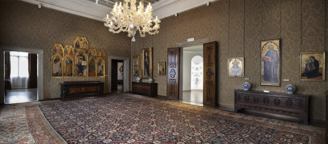 Palazzo Cini, Panoramica degli interni Foto Matteo de Fina1