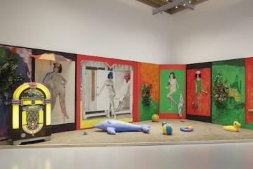 Martial Raysse, Raysse Beach, 1962 Centre Pompidou - Musée national d'art moderne, Paris Installation view at Palazzo Grassi 2015 Ph : © Fulvio Orsenigo © Martial Raysse by SIAE 2015