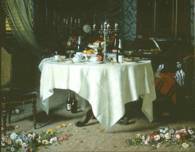 Angelo Morbelli, Asfissia!, 1884, olio su tela, 159x199.5 cm, Fondazione Guido ed Ettore De Fornaris