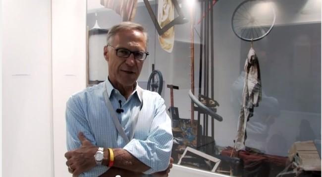 Un ritratto di Pierre André Podbielski alla prima edizione di MIA Fair, 2011