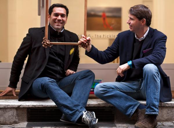 Un ritratto di Paulo Perez Mouriz e Guillaume Maitre