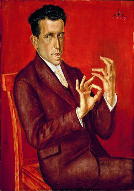 Otto Dix, Ritratto dell'avvocato Hugo Simons, 1925, olio e tempera su tavola, 100.3x70.3 cm, Montreal Museum of Fine Arts © Otto Dix, by SIAE 2015 – The Montreal Museum of Fine Arts Montreal Museum of Fine Arts, purchase, grant from the Government of Canada under the terms of the Cultural Property Export and Import Act, gifts of the Succession J. A. DeSève, Mr. and Mrs. Charles and Andrea Bronfman, Mr. Nahum Gelber and Dr. Sheila Gelber, Mrs. Phyllis Lambert, the Volunteer Association and the Junior Associates of the Montreal Museum of Fine Arts, Mrs. Louise L. Lamarre, Mr. Pierre Théberge, the Museum's acquisition fund, and the Horsley and Annie Townsend Bequest, inv. 1993.12 © 2015 Artists Rights Society (ARS), New York/VG Bild-Kunst, Bonn,  photo: The Montreal Museum of Fine Arts, Brian Merrett