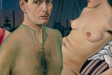 Christian Schad, Autoritratto, 1927, olio su tavola, 76x61.5 cm, Private Collection Courtesy of Tate © Bettina Schad, Archiv U. Nachlab & Christian Schad, by SIAE 2015 © 2015 Christian Schad Stiftung Aschaffenburg/Artists Rights Society (ARS), New York/VG Bild-Kunst, Bonn, photo by Benjamin Hasenclever, Munich