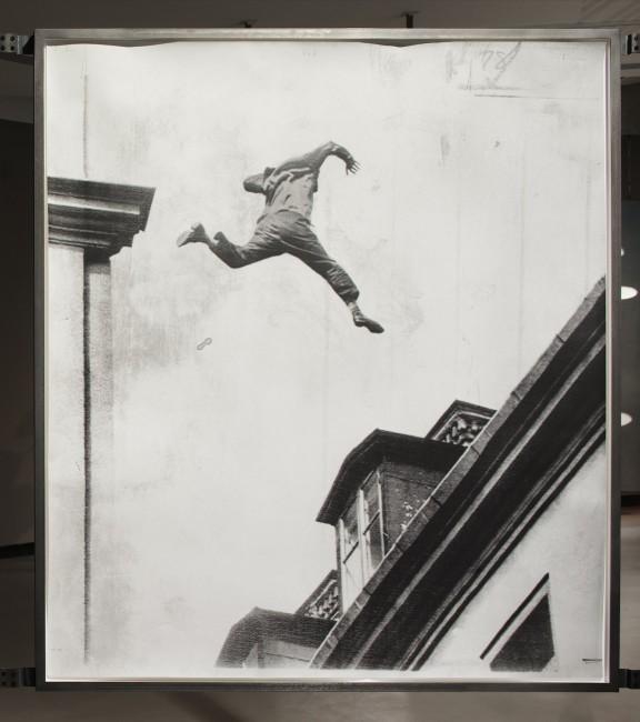 Linda Fregni Nagler, A Moment of Suspense, gelatin silver print on Matt Baryt Paper; Selenium Toner