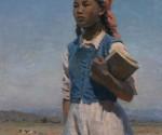 Semën Afanas'evič Čujkov, La figlia del soviet Kirghizia, 1948, olio su tela, 120x95 cm, Galleria Tret'jakov, Mosca