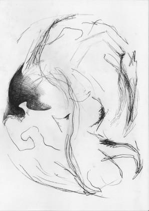Un disegno di Alis-Filliol per Almost Human