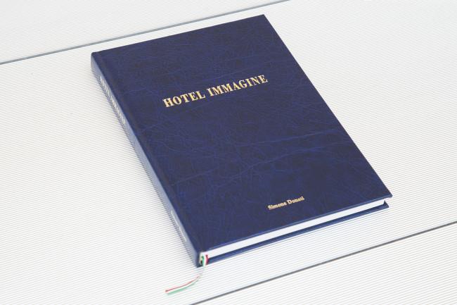 HOTEL IMMAGINE (cover), Fotografie: Simone Donati Graphic design: Emanuele Poli Postfazione: Quit the Doner