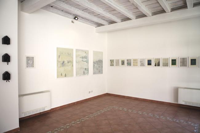 Elisa Bertaglia e Anna Turina. Nest, veduta della mostra