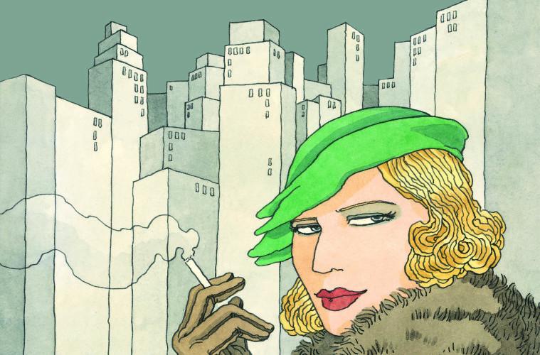 TAMARA DE LEMPICKA graphic novel di Vanna Vinci, 24 ORE Cultura, 2015 (particolare cover)