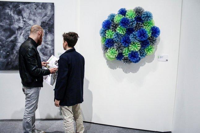 Biennale Giovani Monza 2015, veduta dell'allestimento, Arengario, Monza