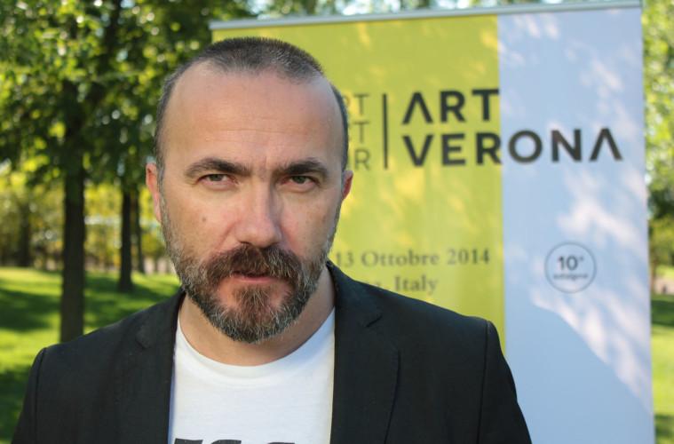 Andrea Bruciati, direttore artistico ArtVerona 2015