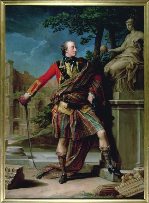 Pompeo Batoni, Il colonnello William Gordon (1736-1816), 1765-66, olio su tela, 259x187.5 cm, The National Trust for Scotland, Edimburgo