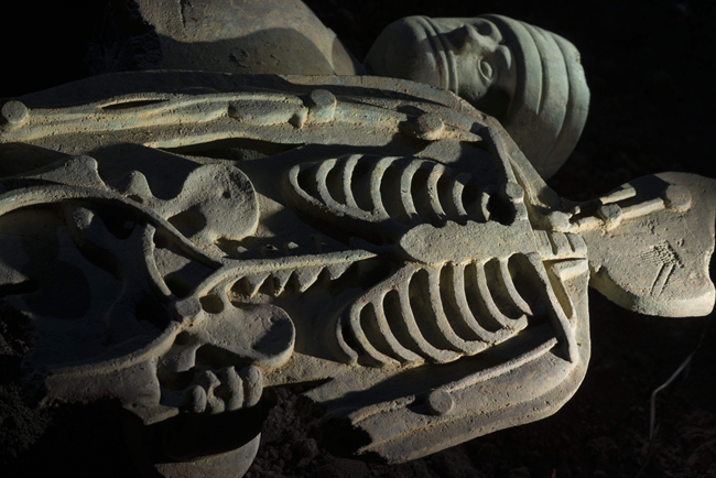 """Grisha Bruskin, La collezione di un archeologo, """"Doctor"""", 2004-2009"""