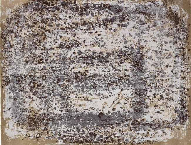 Jean Dubuffet, Chaussée terreuse, 4 da Aires et lieux All images of Jean Dubuffet works © SIAE, Roma 2015