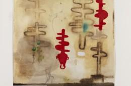 Humus 16, 2015, cm 136x152, tecnica mista su cartoncino