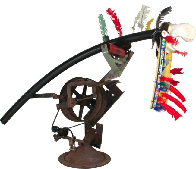 Jean Tinguely, Jean-Jacques Roussea