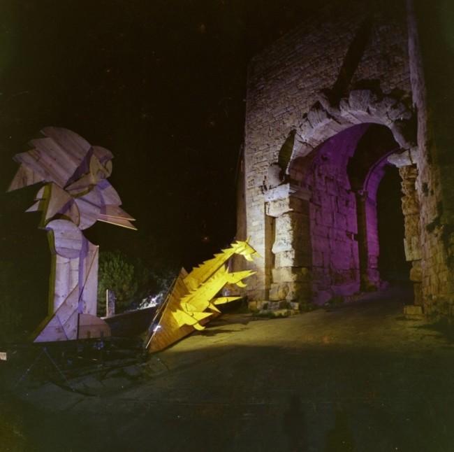 Nino Giammarco, Porta all' Arco, 1973 Foto Damiano Dainelli