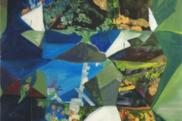Marjolijn De Wit, Untitled, 2010, olio su tela, 140x130 cm Courtesy Otto Zoo, Milano